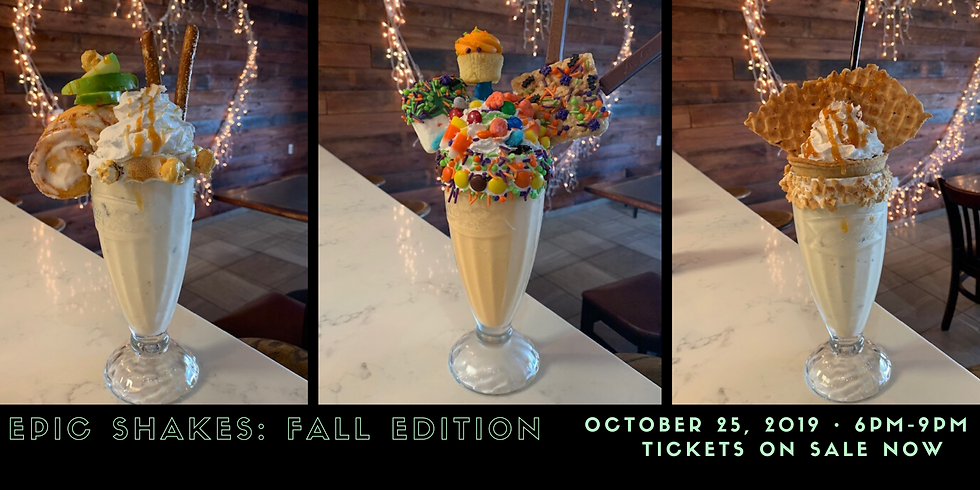 Epic Shakes - Fall Edition