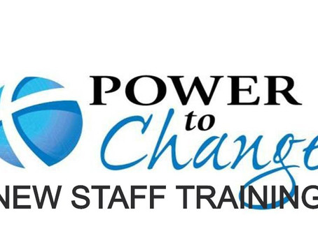 Scattered Thoughts from Power to Change New Staff Training
