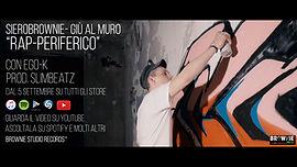 Siero Brownie durante la registrazione di un video con EgoK, VideoClip Palermo su HipHop Libero