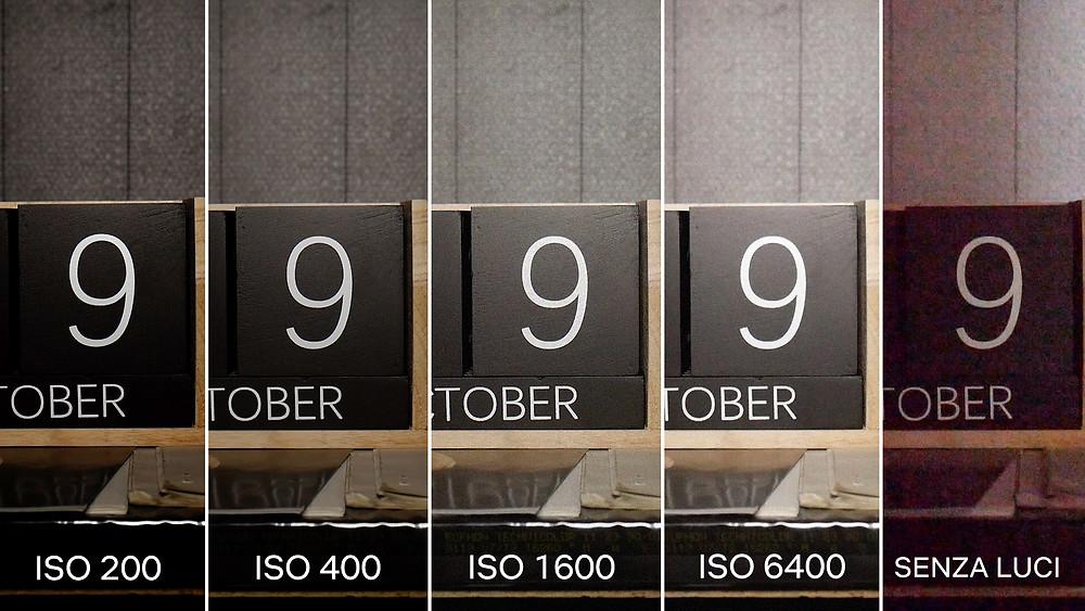 Rumore Video ad alti ISO