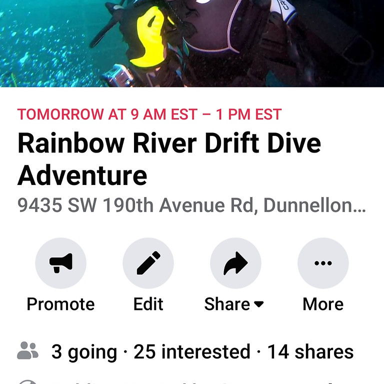 Rainbow River Drift Dive Adventure