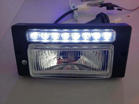 Фары ВАЗ 2110 противотуманные с ДХО LED