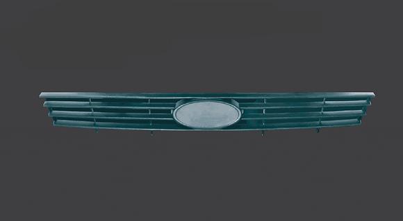Решетка бампера верхняя ВАЗ 2170 ПРИОРА
