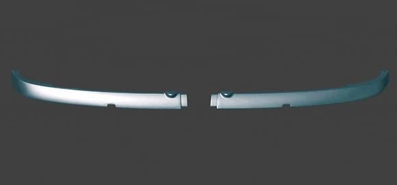 Накладки фар передние ВАЗ 2114 (реснички) в цвет
