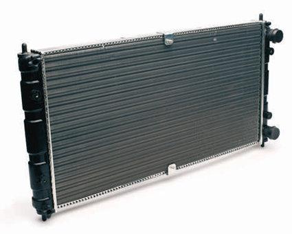 Радиатор ВАЗ 2123 аналог алюминиевый
