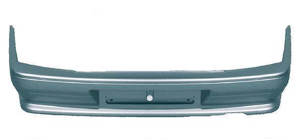 Бампер задний ВАЗ 2115 (под металл. балку) в цвет