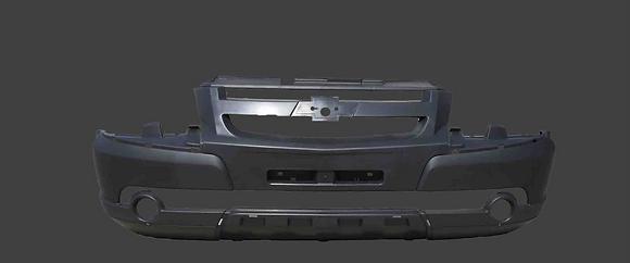 Бампер передний ВАЗ2123 НИВА Шевроле Бертон в цвет