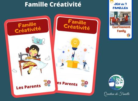 Dans la Famille créativité je voudrais les parents...