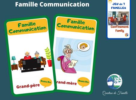 Dans Famille communication je voudrais les Grands-parents!