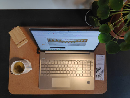 Hou de moed erin tijdens het online lesgeven