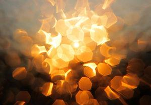 Explosión de la luz