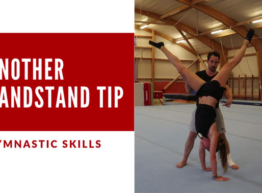 Handstand Tip #1 - Let the swinging leg lead the way!