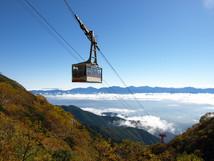 駒ケ岳千畳敷カールでは紅葉が綺麗ですよ~(^^♪