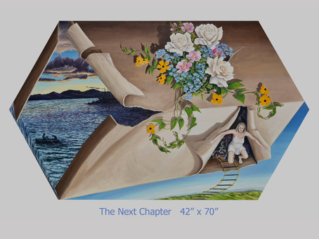 'The Next Chapter' - in the 2021 LIMITLESS Exhibition online at federationgallery.com