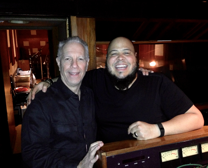 Tommy and Abe Laboriel Jr.