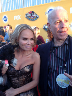 Kristin Chenoweth and Tommy