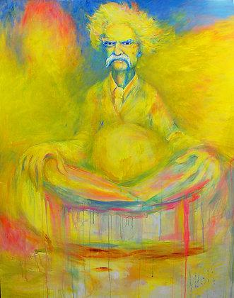 Levitating Twain Buddha