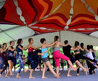 Bali Spirit Festival, yoga retreat,vounteering yoga teaching, Bali