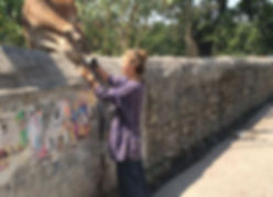 yoga teacher, rishikesh, india, cow, veganism, plant based, love
