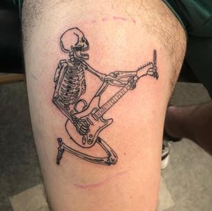 Rock n Roll Skeleton