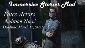 Open Casting Call: Immersive Stories Mod