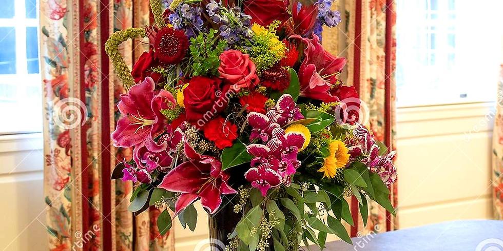 A Large Colorful Bouquet - A Virtual Class