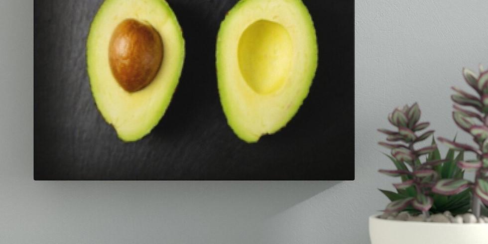Avocado - A Still Life