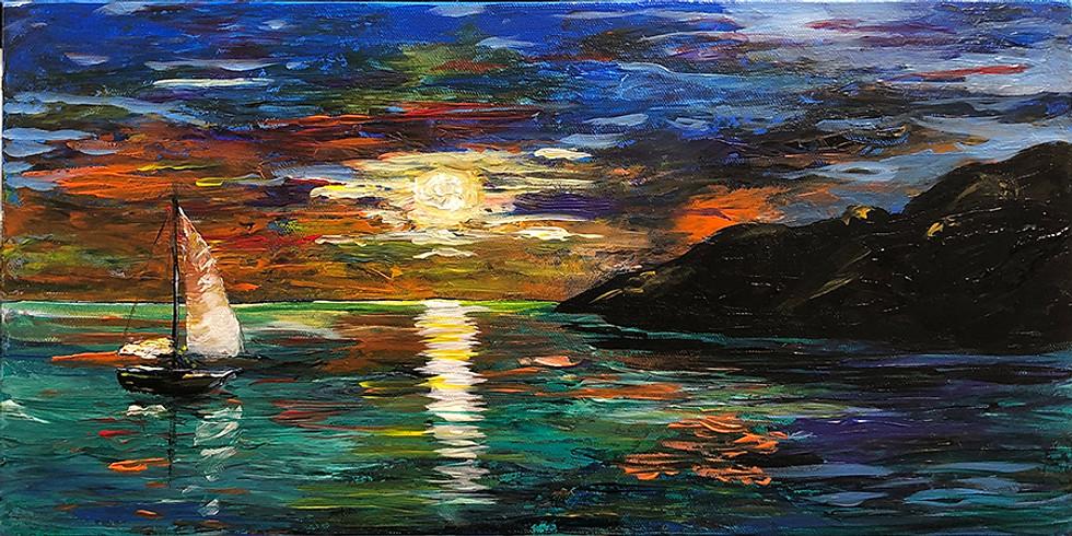 Sailing Mood - Abstract