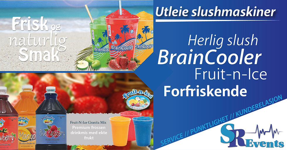 slush-utleie-braincooler-fruit n ice-partyslush-leie