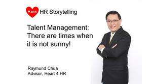 Talent Management: There are times when it is not sunny!