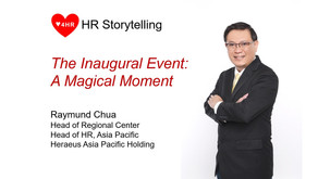 The Inaugural Event - A Magical Moment