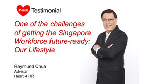 """One of the challenges of getting the Singapore workforce to be future-ready: """"Our Lifestyle"""""""