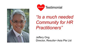 """""""Is a much needed community for HR practitioners"""""""