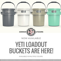 YETI LOADOUT BUCKETS ARE HERE!