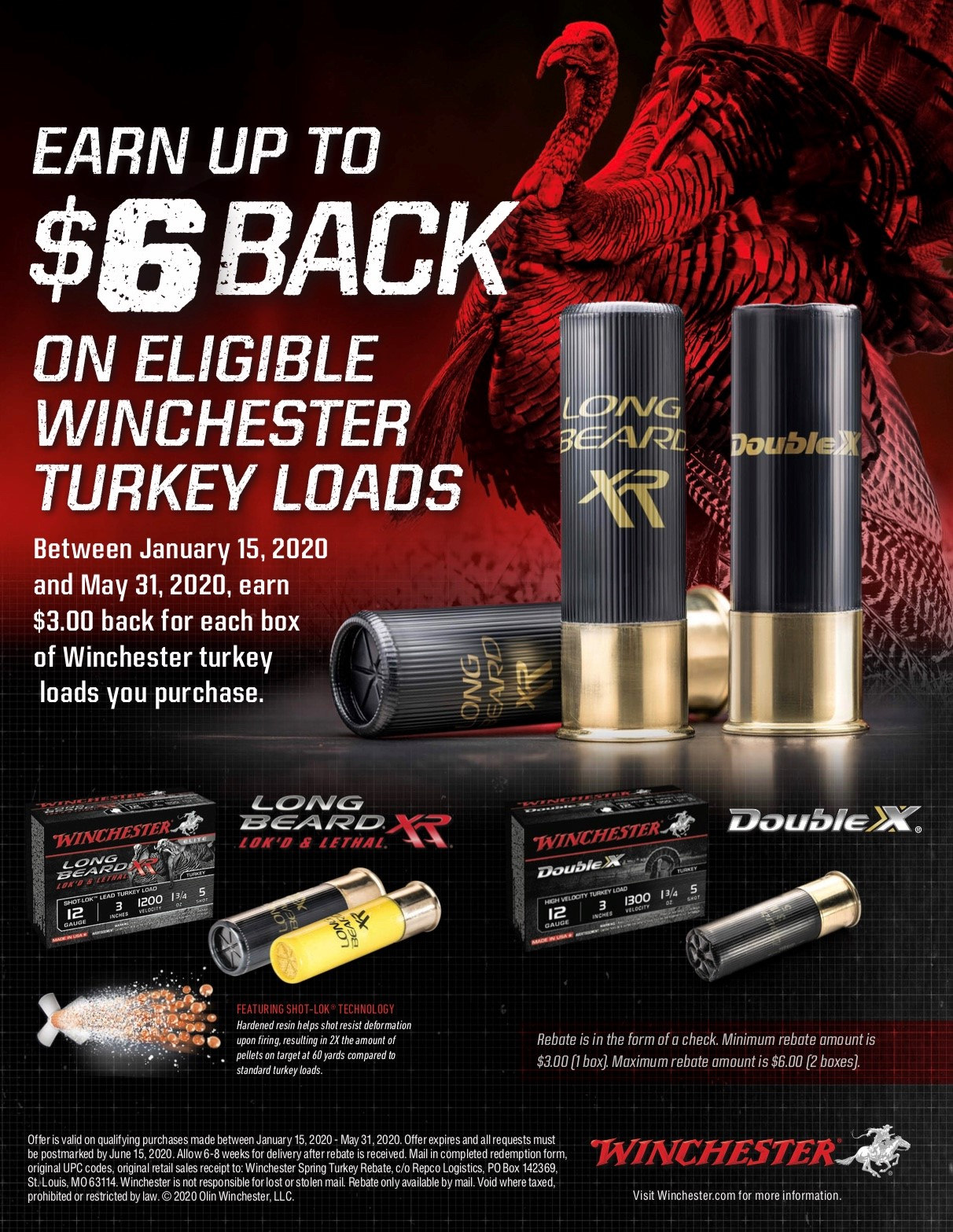2020 Turkey Rebate