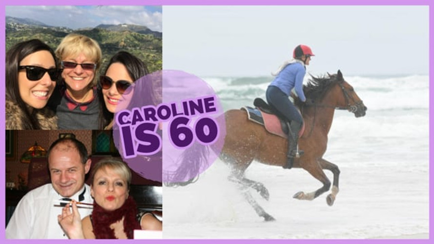 Caroline is 60