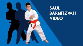 Saul's barmitzvah video