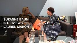Suzanne Baum interviews Lauren Mahon