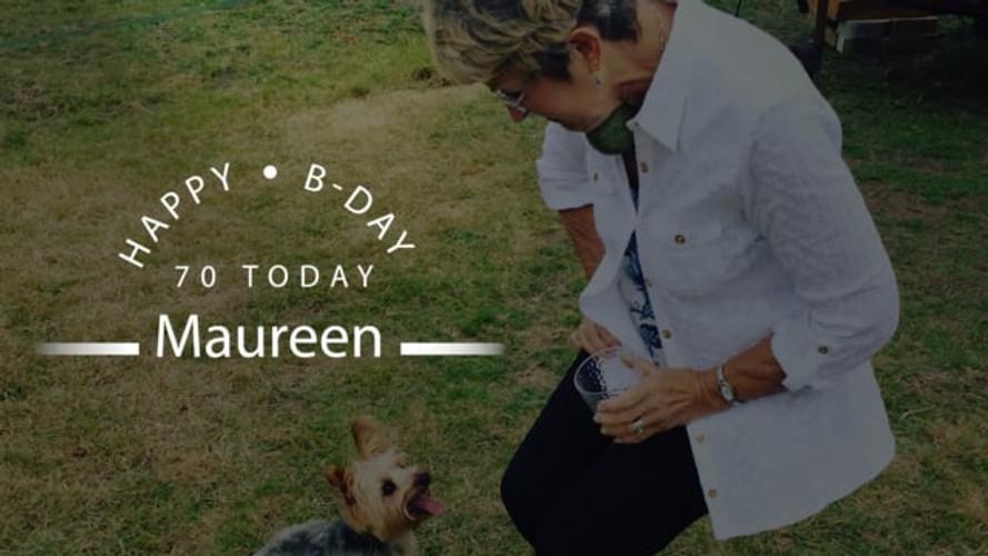 Maureen birthday video