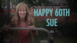 Sue lip sync music video