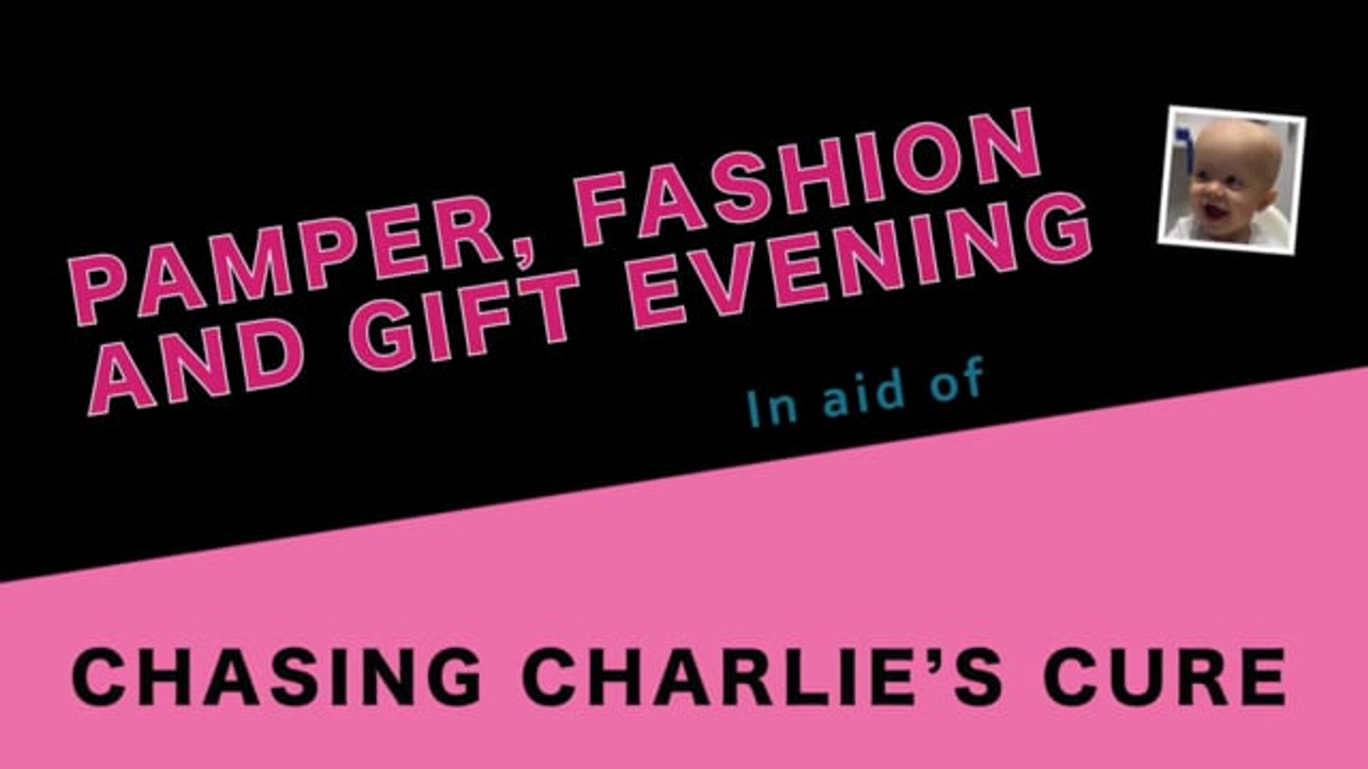 Chasing Charlie's Cure event