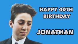 Jonathan is 40