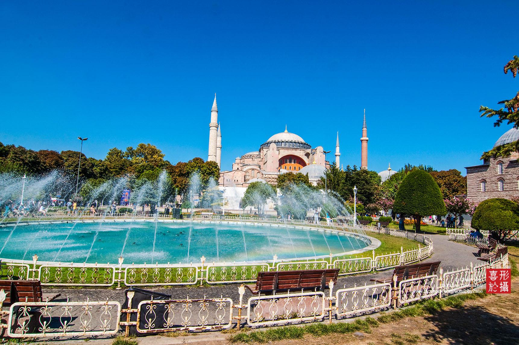 伊斯坦堡‧聖索菲亞大教堂 Hagia Sophia