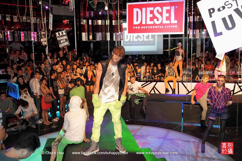 活動攝影-DIESEL fashion show-02