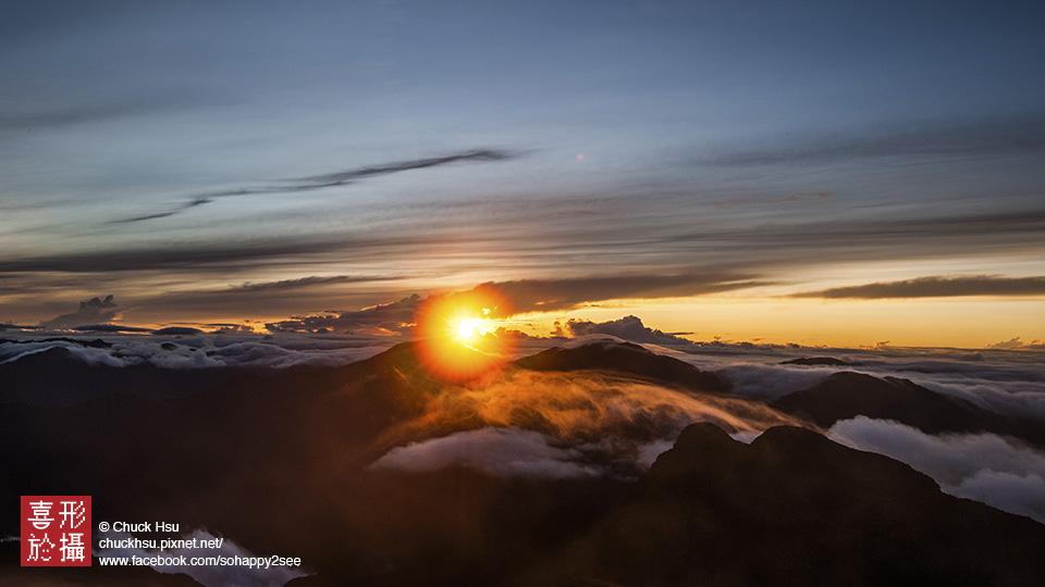 玉山曙光 (Yushan Main Peak , Taiwan)