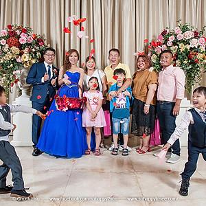 婚禮紀錄 世耀宇嵐喜宴大合照
