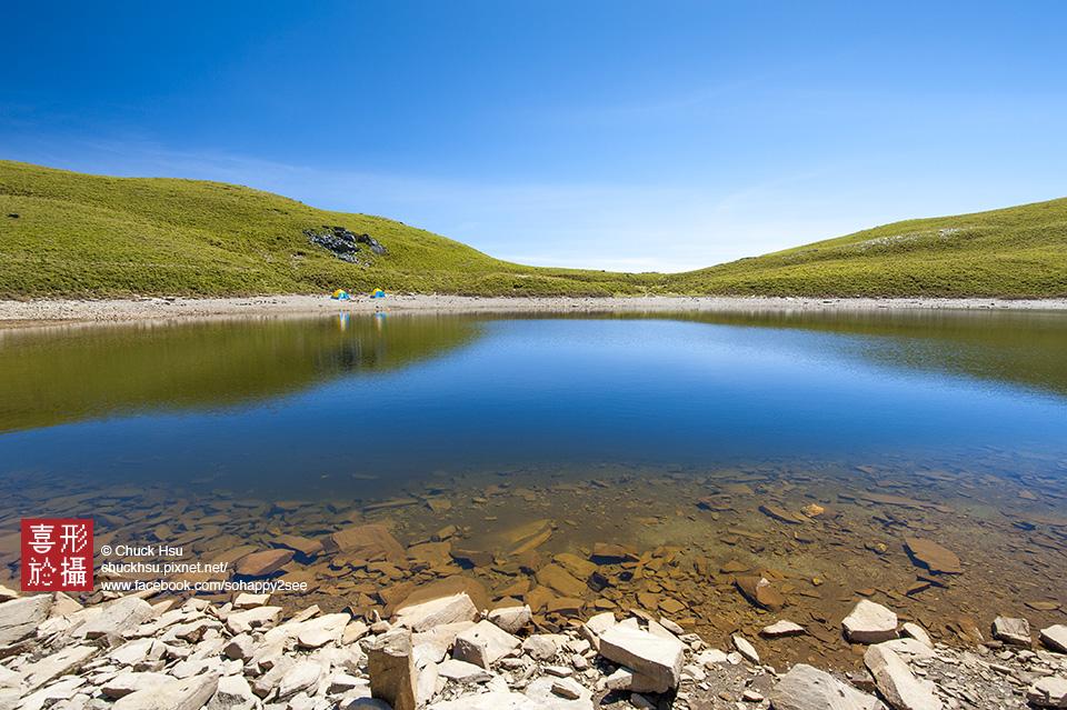 嘉明湖 湛藍天使眼淚 Chiaming Lake