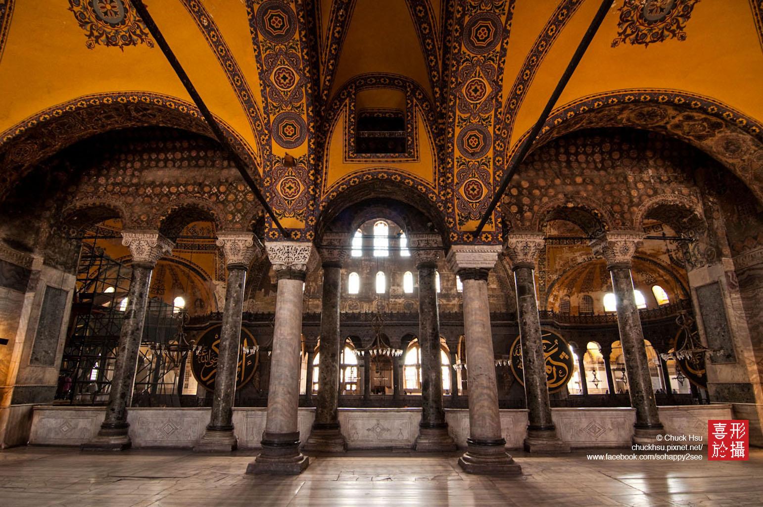 伊斯坦堡‧聖索菲亞大教堂 Hagia Sophia /Ayasofya
