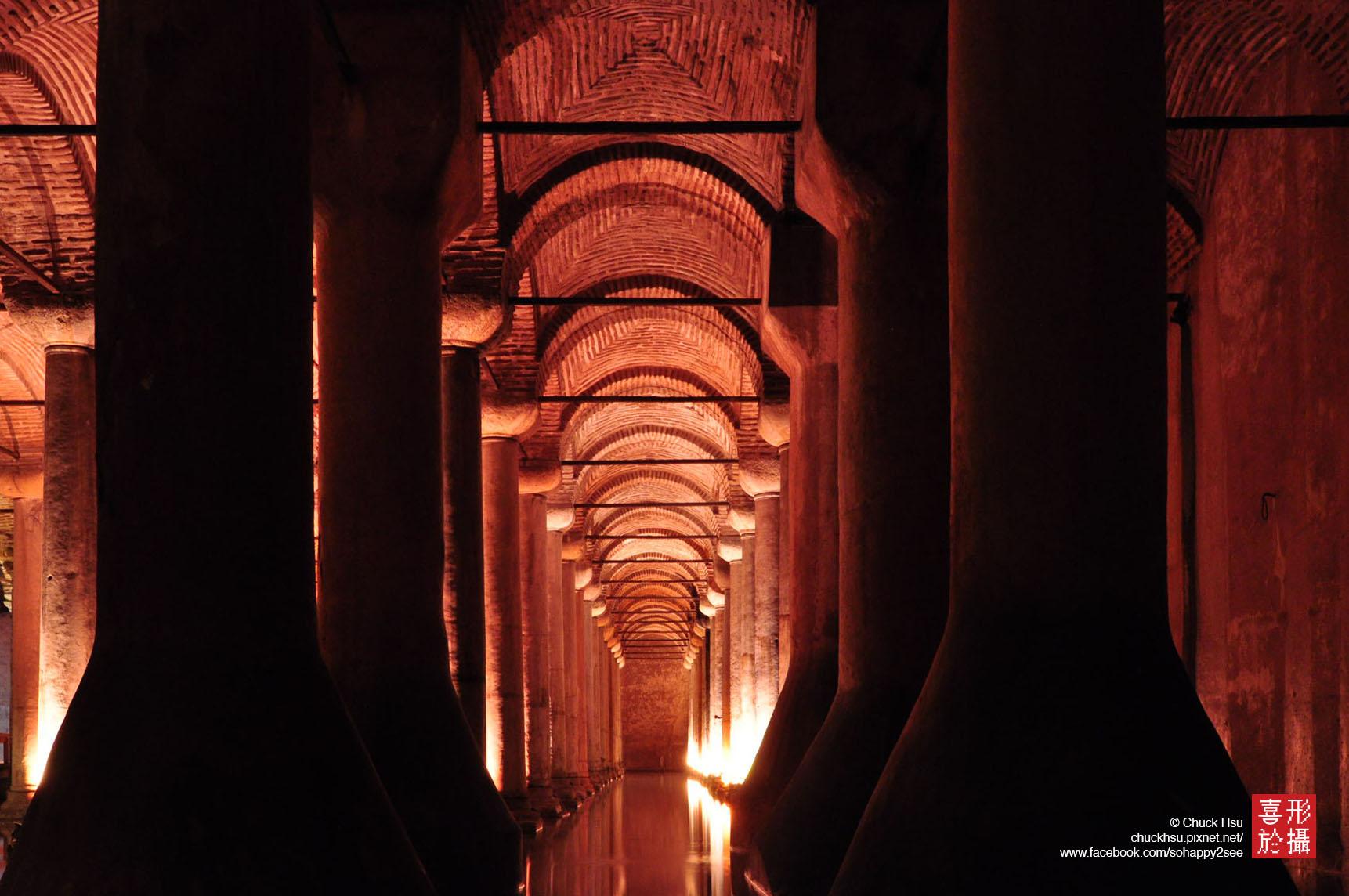 地下水宮殿 Yerebatan Sarayı,Istanbul