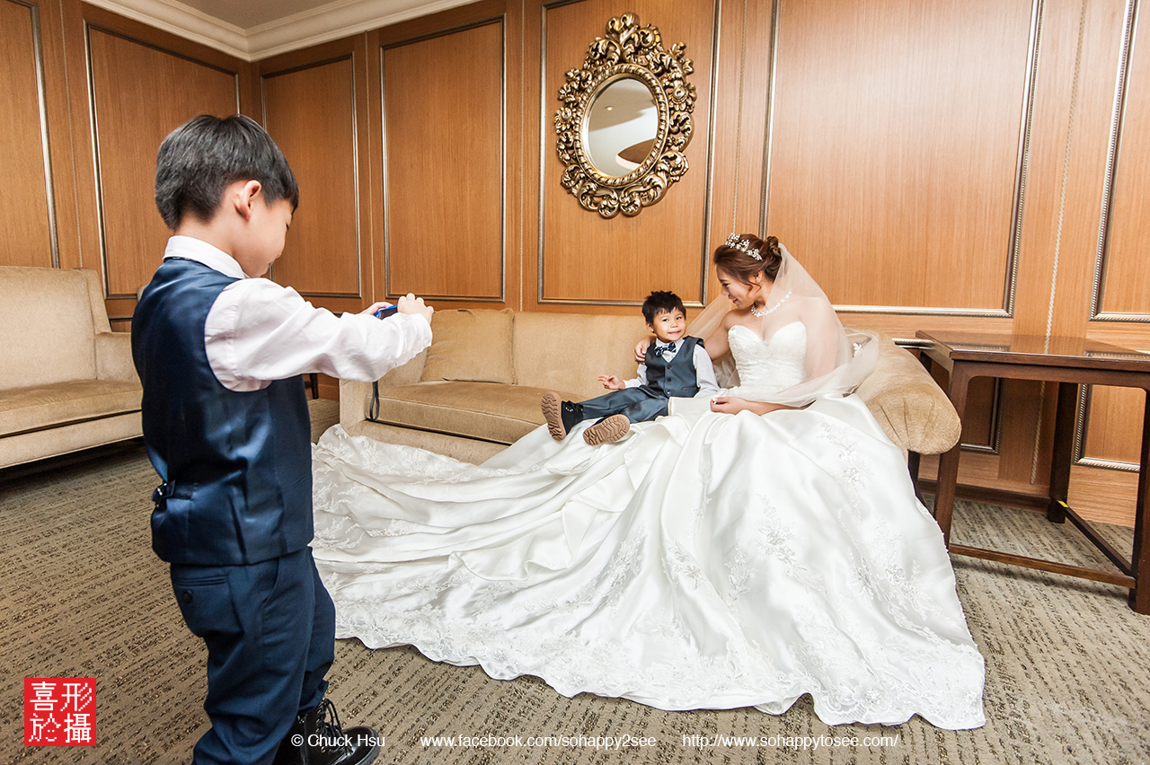 婚攝從小開始培養!